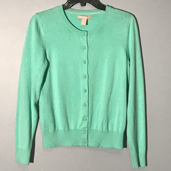 725ded76972b Banana Republic Sweaters - NWOT mint green cardigan